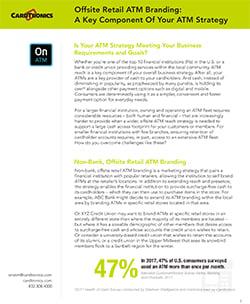 Offsite Retail ATM Branding
